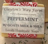 Peppermint Goat Milk & Shea