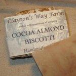 Cocoa Almond Biscotti