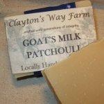 Patchouli, Shea & Goat Milk