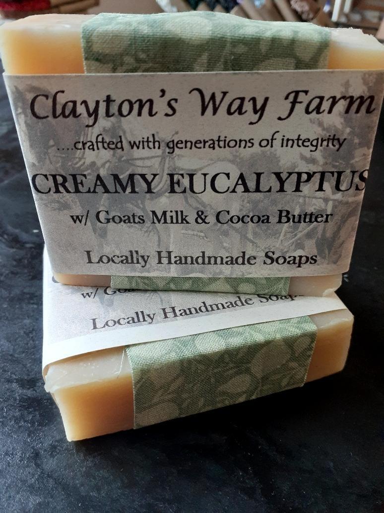 Creamy Eucalyptus w/ Goats Milk & Cocoa Butter