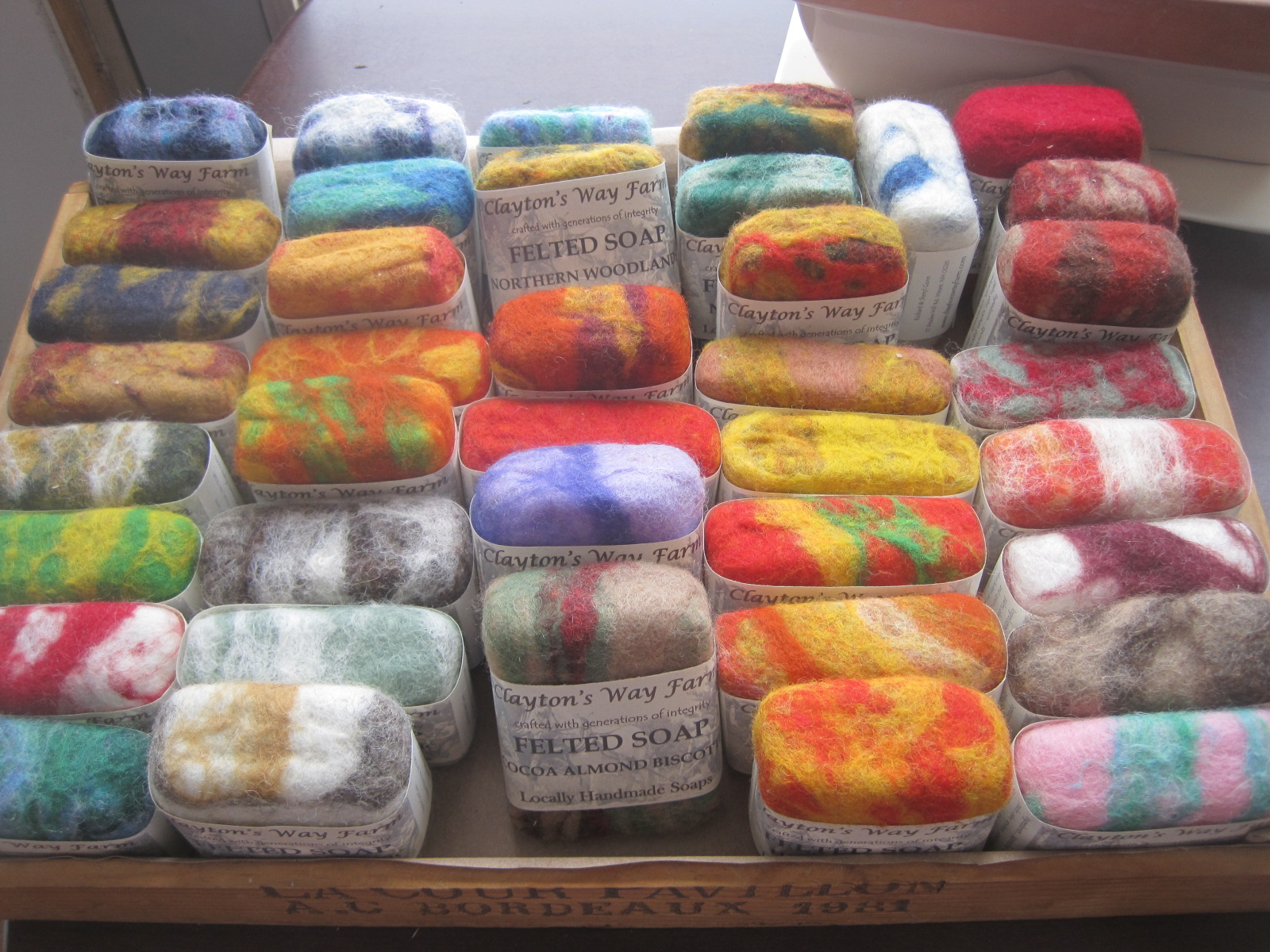 Harvest Spice - Felted