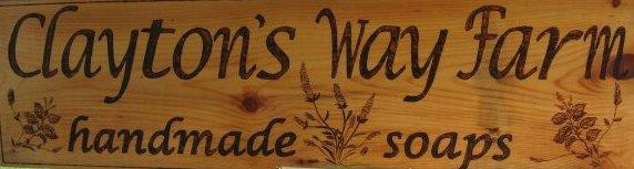 Clayton's Way Farm Sign