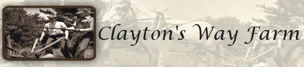 Claytons Way Farm